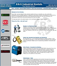 B and G Rental - Home Page