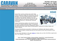 Caravan Manufacturing - Home Page