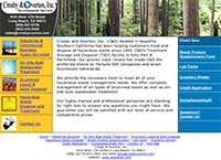 Crosby and Overton, Inc., Environmental Services - Home Page