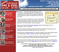 Lakewood Pipe and Steel - Home Page