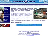 Reliable Steel  - Home Page