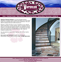 Vaporlux Tile & Stone Cleaning